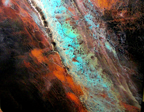 turquoise nebula countertop